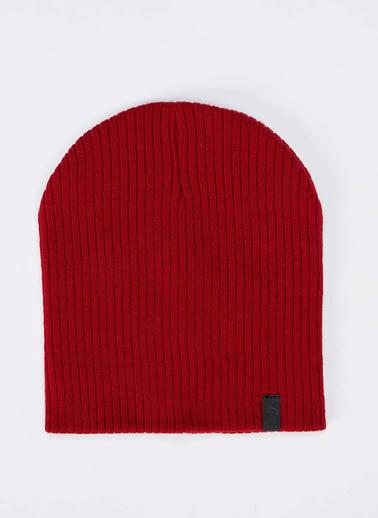 DeFacto Basic Triko Bere Kırmızı